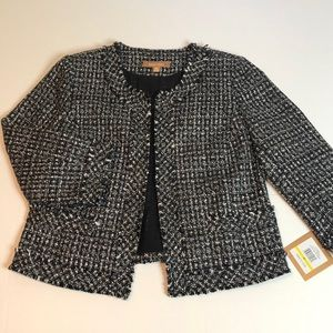 BRAND NEW - tweed blazer